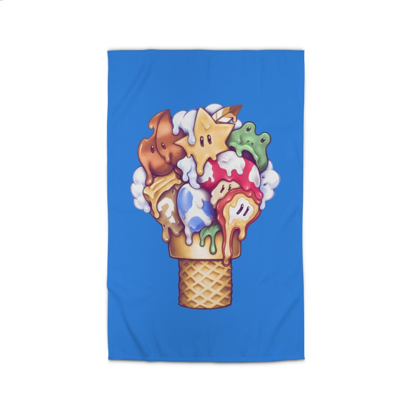 Ice Cream Power Up Home Rug by c0y0te7's Artist Shop
