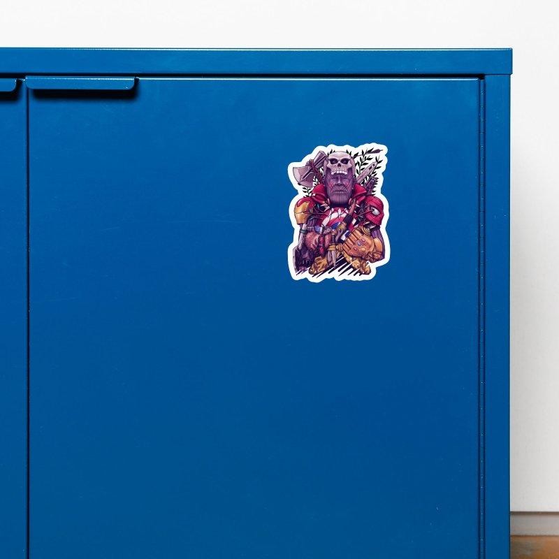 Wild Thanos Accessories Magnet by c0y0te7's Artist Shop