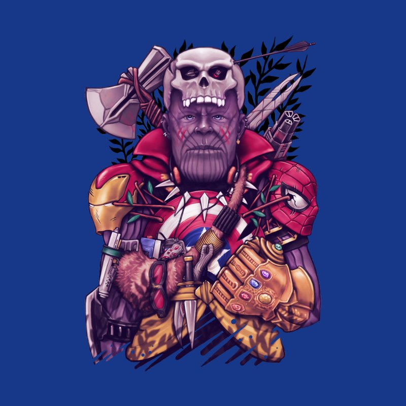 Wild Thanos Men's T-Shirt by c0y0te7's Artist Shop