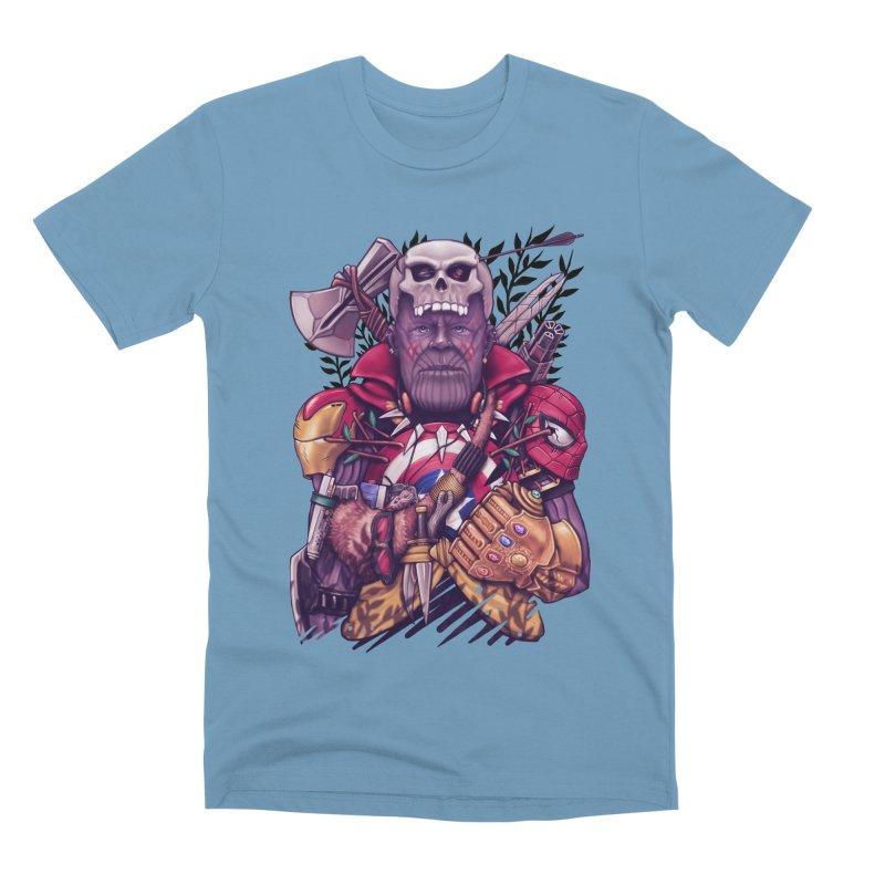 Wild Thanos Men's Premium T-Shirt by c0y0te7's Artist Shop