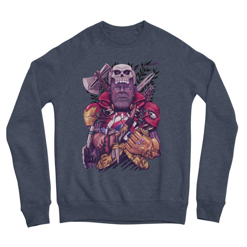 Wild Thanos Men's Sponge Fleece Sweatshirt by c0y0te7's Artist Shop