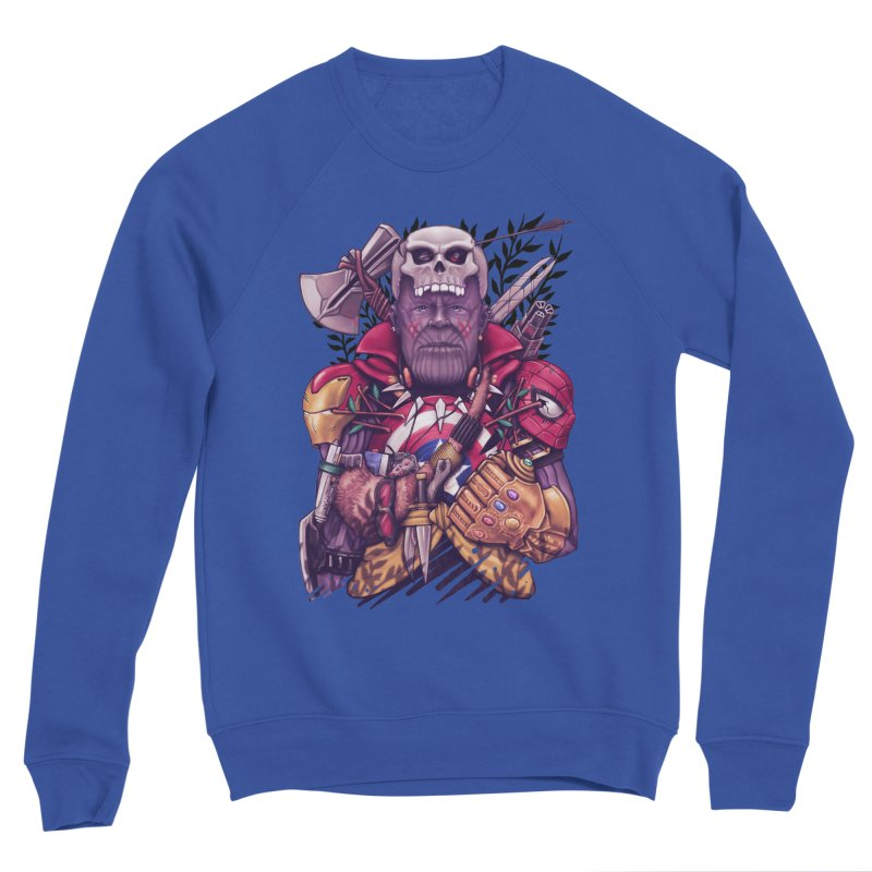 Wild Thanos Women's Sponge Fleece Sweatshirt by c0y0te7's Artist Shop