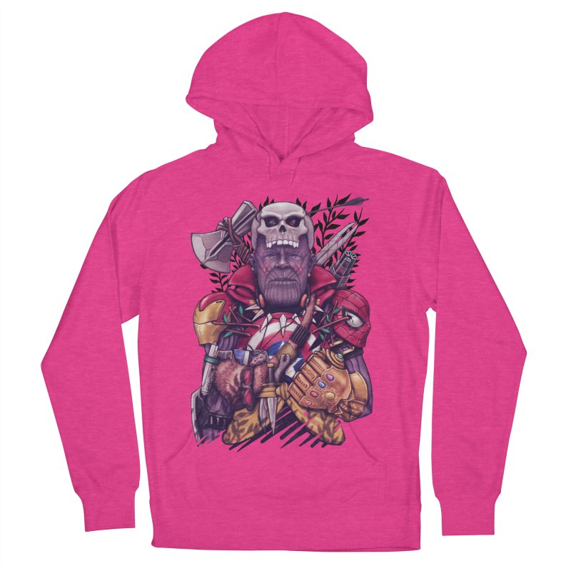 Wild Thanos Women's French Terry Pullover Hoody by c0y0te7's Artist Shop