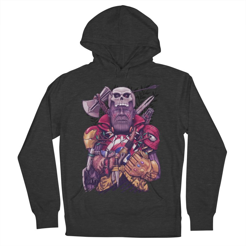 Wild Thanos Men's French Terry Pullover Hoody by c0y0te7's Artist Shop