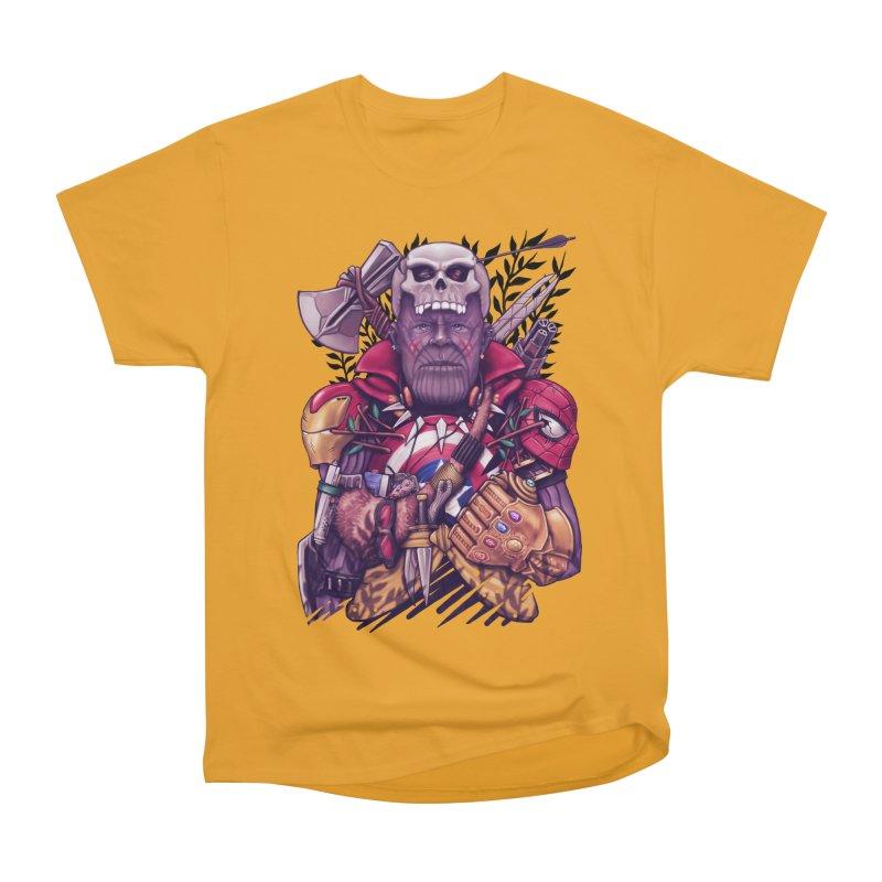 Wild Thanos Women's Heavyweight Unisex T-Shirt by c0y0te7's Artist Shop