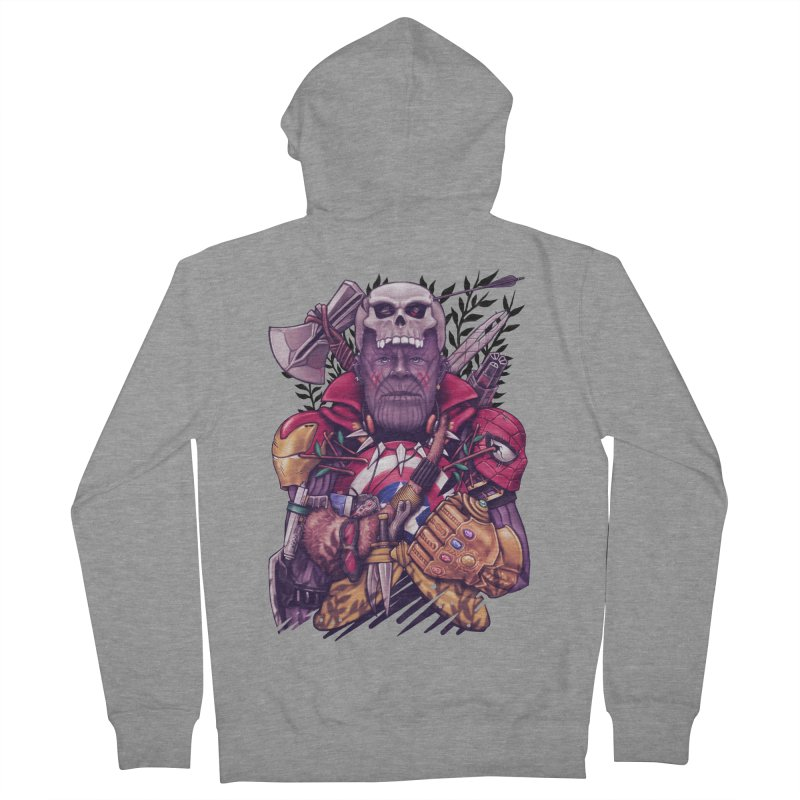 Wild Thanos Women's French Terry Zip-Up Hoody by c0y0te7's Artist Shop