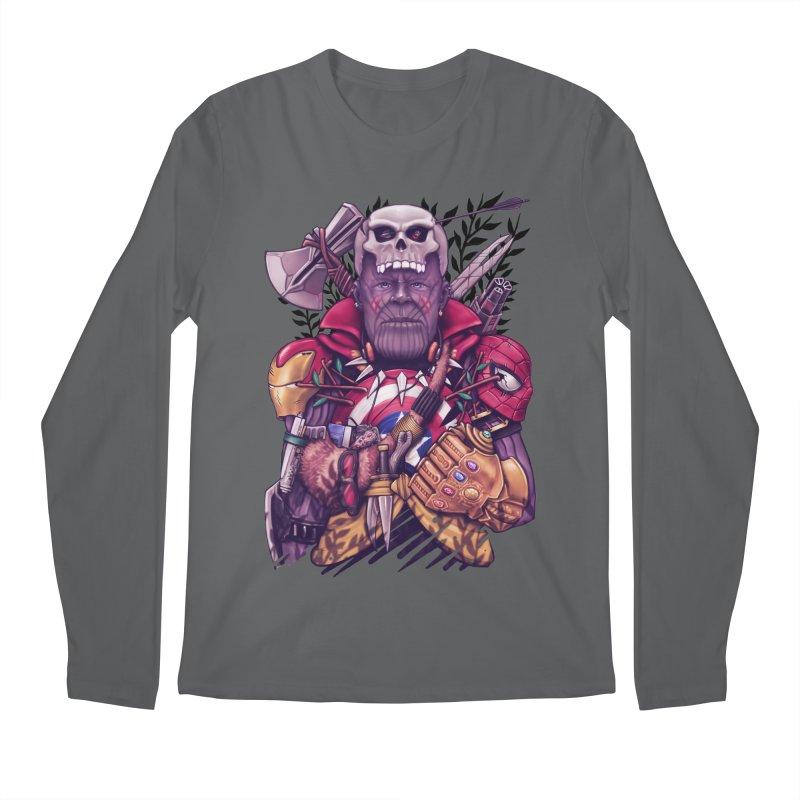 Wild Thanos Men's Longsleeve T-Shirt by c0y0te7's Artist Shop