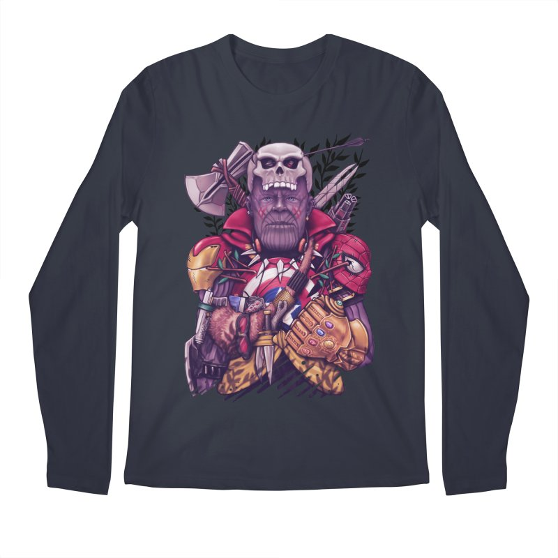 Wild Thanos Men's Regular Longsleeve T-Shirt by c0y0te7's Artist Shop