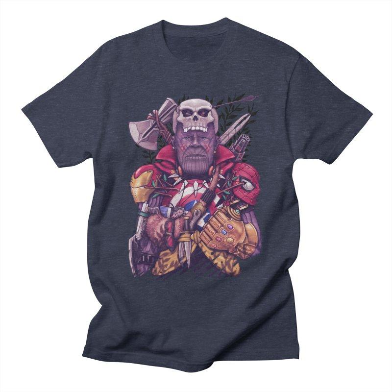 Wild Thanos Men's T-Shirt by c0y0te7's Artist Shop