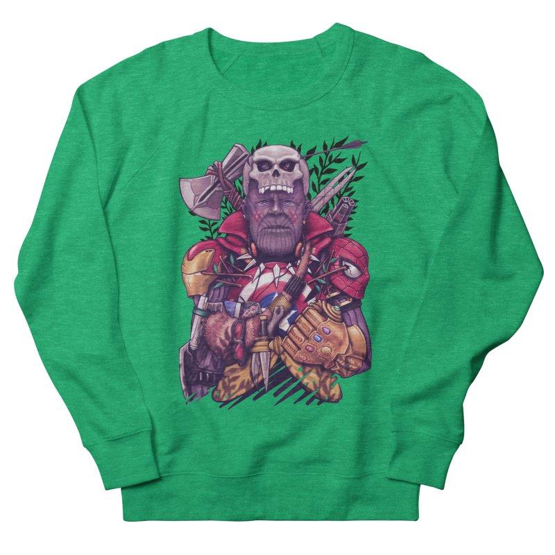 Wild Thanos Women's Sweatshirt by c0y0te7's Artist Shop