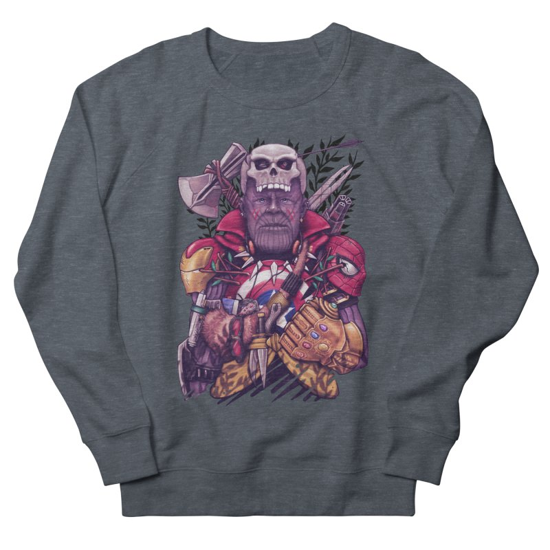 Wild Thanos Men's French Terry Sweatshirt by c0y0te7's Artist Shop