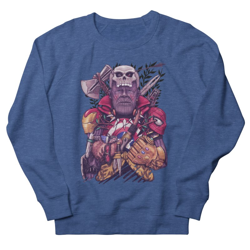 Wild Thanos Men's Sweatshirt by c0y0te7's Artist Shop