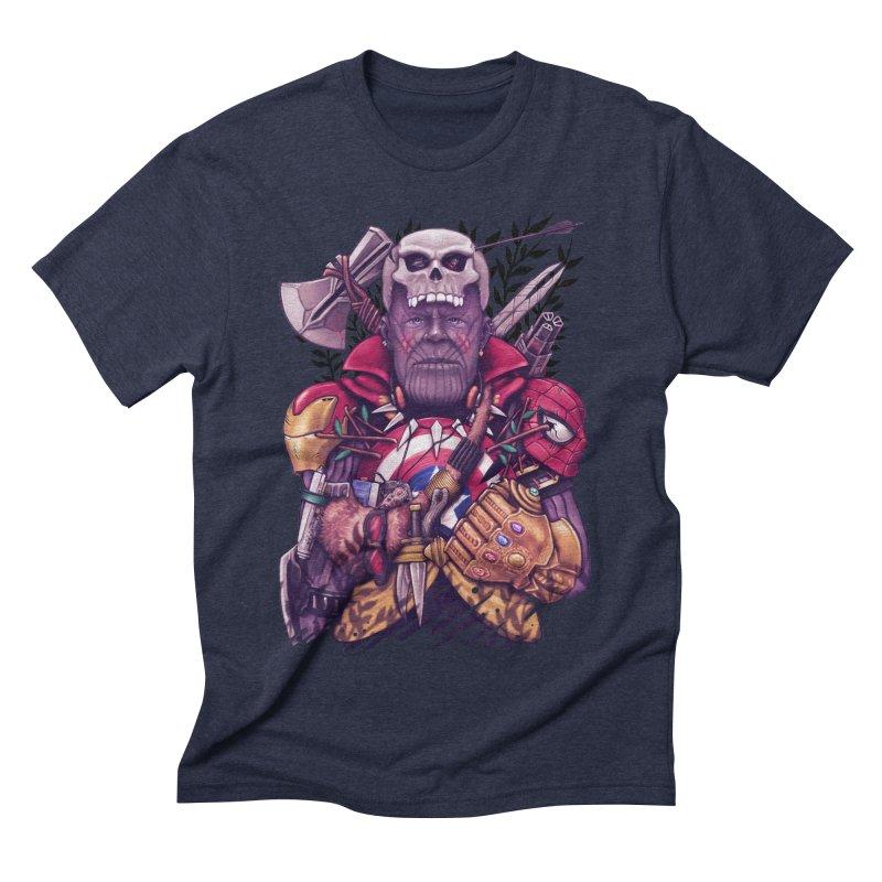 Wild Thanos Men's Triblend T-Shirt by c0y0te7's Artist Shop