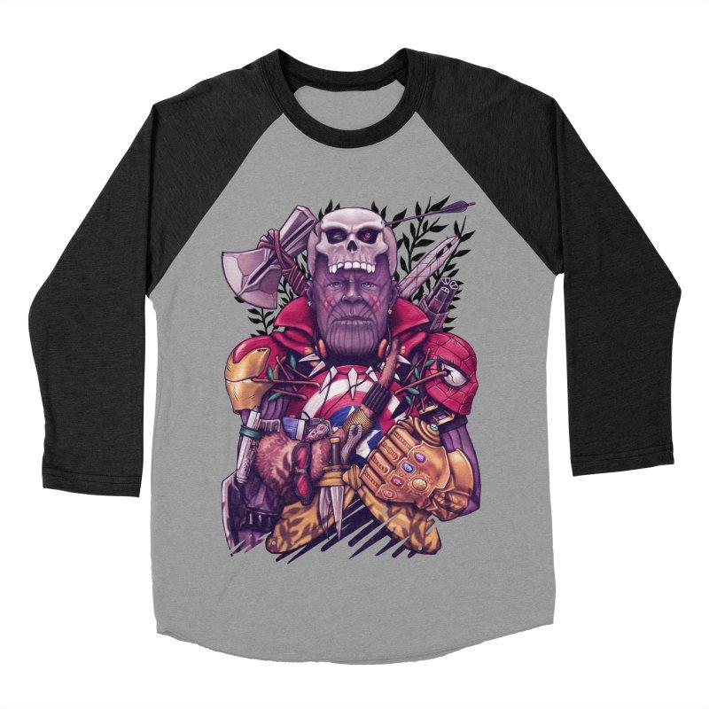 Wild Thanos Women's Baseball Triblend Longsleeve T-Shirt by c0y0te7's Artist Shop