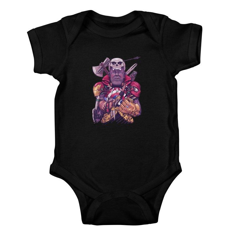 Wild Thanos Kids Baby Bodysuit by c0y0te7's Artist Shop