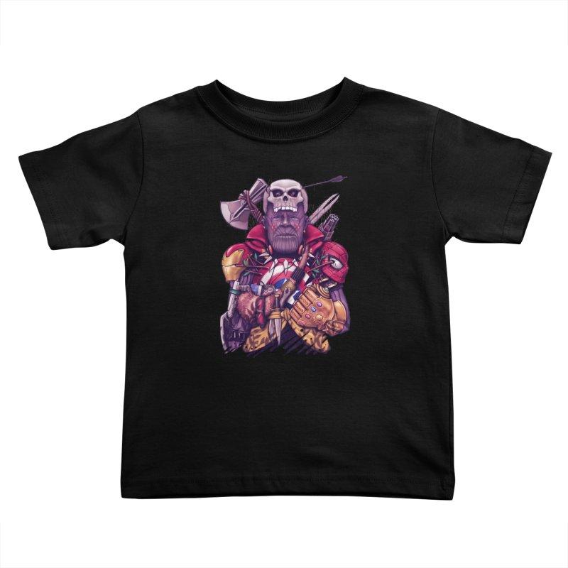 Wild Thanos Kids Toddler T-Shirt by c0y0te7's Artist Shop