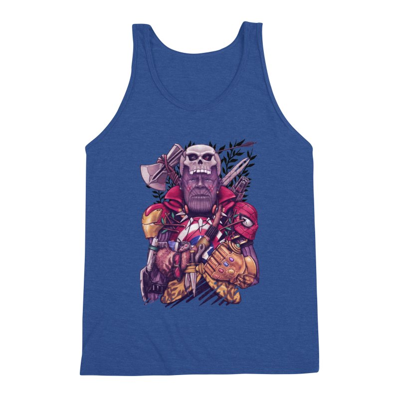 Wild Thanos Men's Tank by c0y0te7's Artist Shop