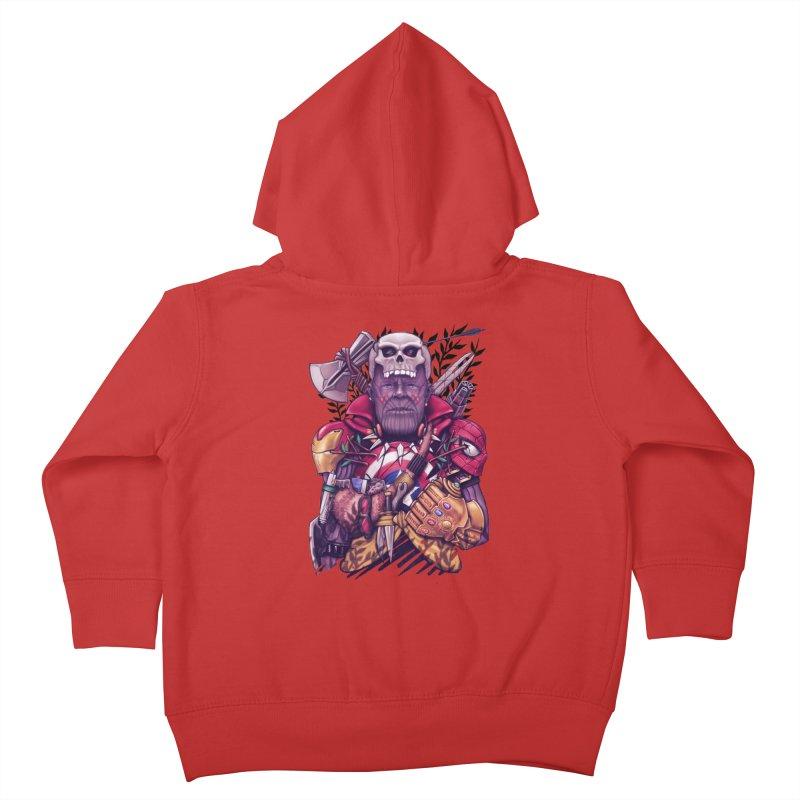 Wild Thanos Kids Toddler Zip-Up Hoody by c0y0te7's Artist Shop