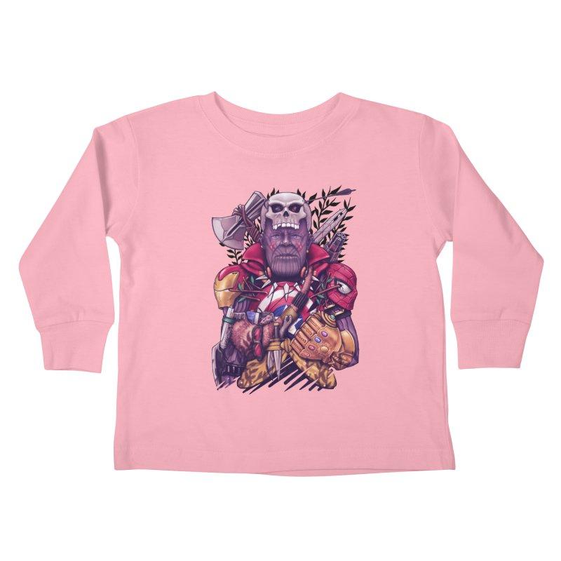 Wild Thanos Kids Toddler Longsleeve T-Shirt by c0y0te7's Artist Shop