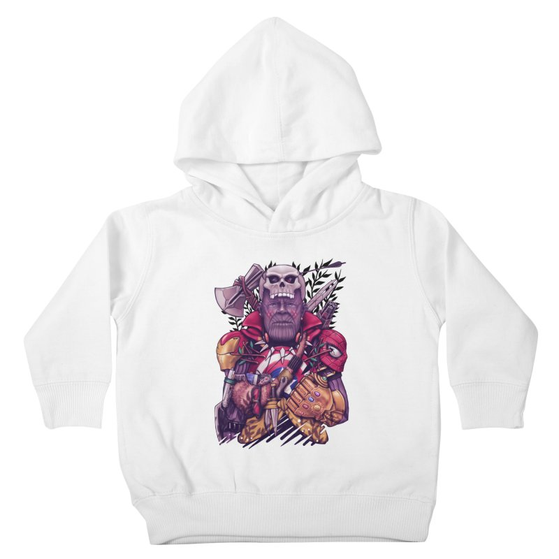 Wild Thanos Kids Toddler Pullover Hoody by c0y0te7's Artist Shop