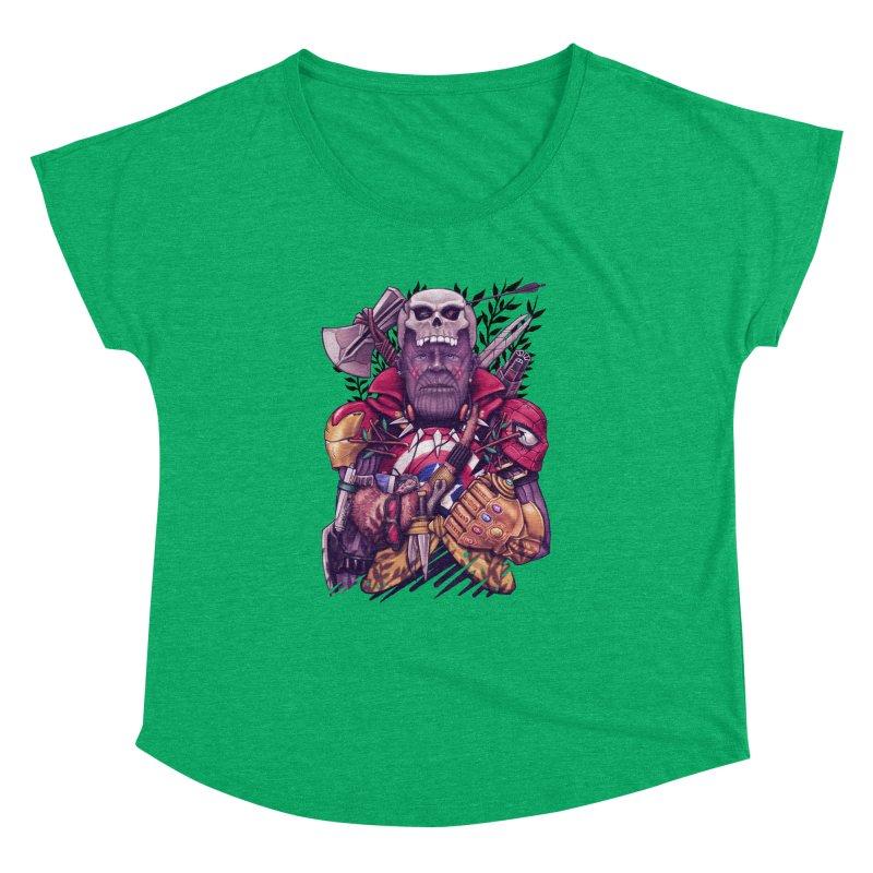 Wild Thanos Women's Dolman Scoop Neck by c0y0te7's Artist Shop
