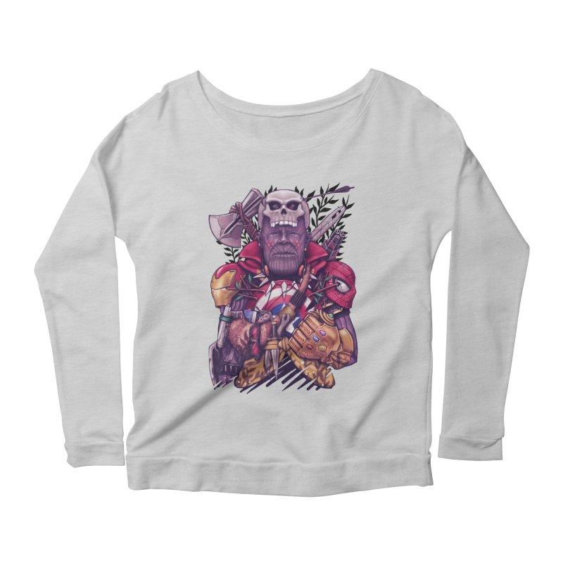 Wild Thanos Women's Scoop Neck Longsleeve T-Shirt by c0y0te7's Artist Shop