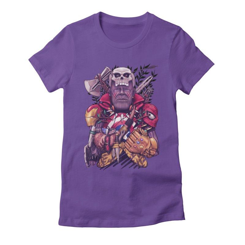 Wild Thanos Women's T-Shirt by c0y0te7's Artist Shop