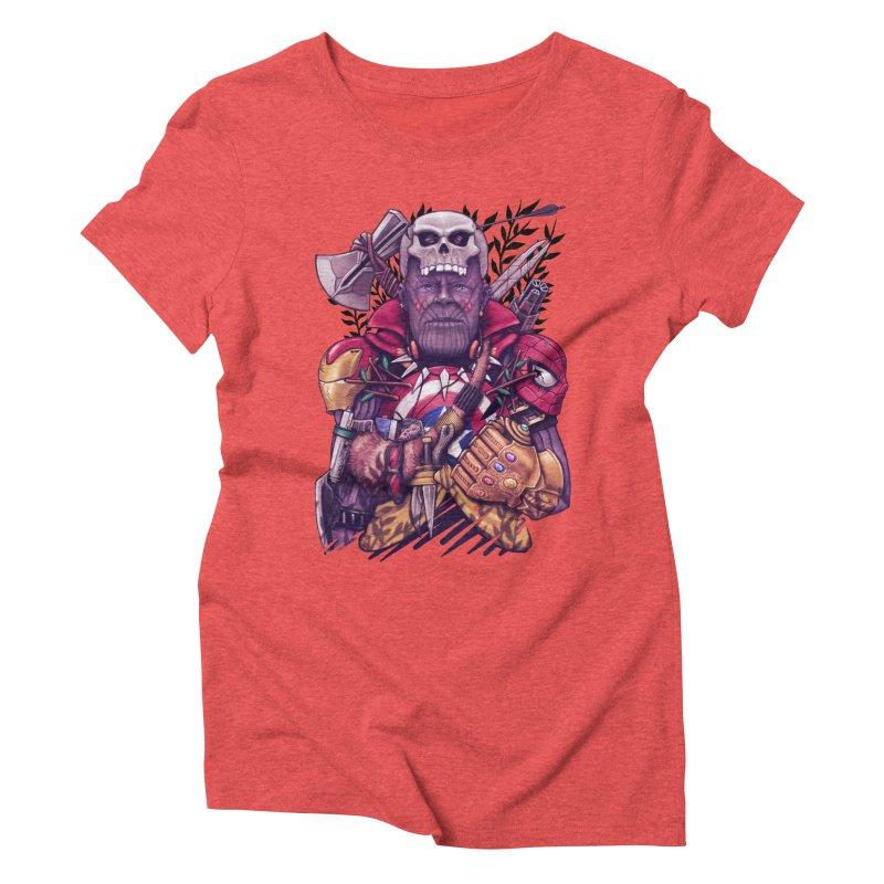 Wild Thanos Women's Triblend T-Shirt by c0y0te7's Artist Shop