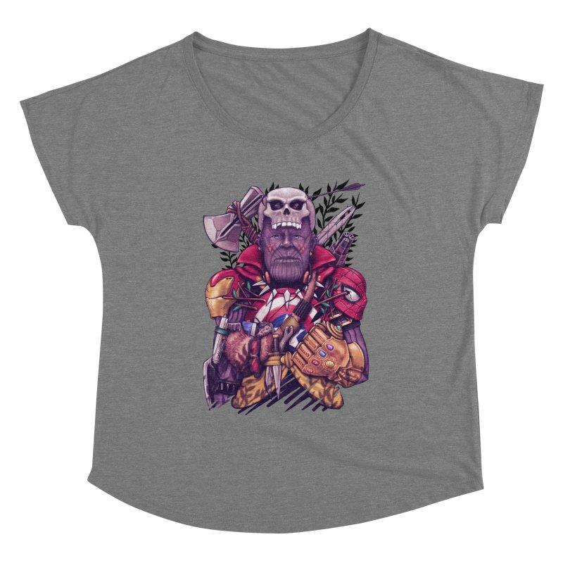Wild Thanos Women's Scoop Neck by c0y0te7's Artist Shop
