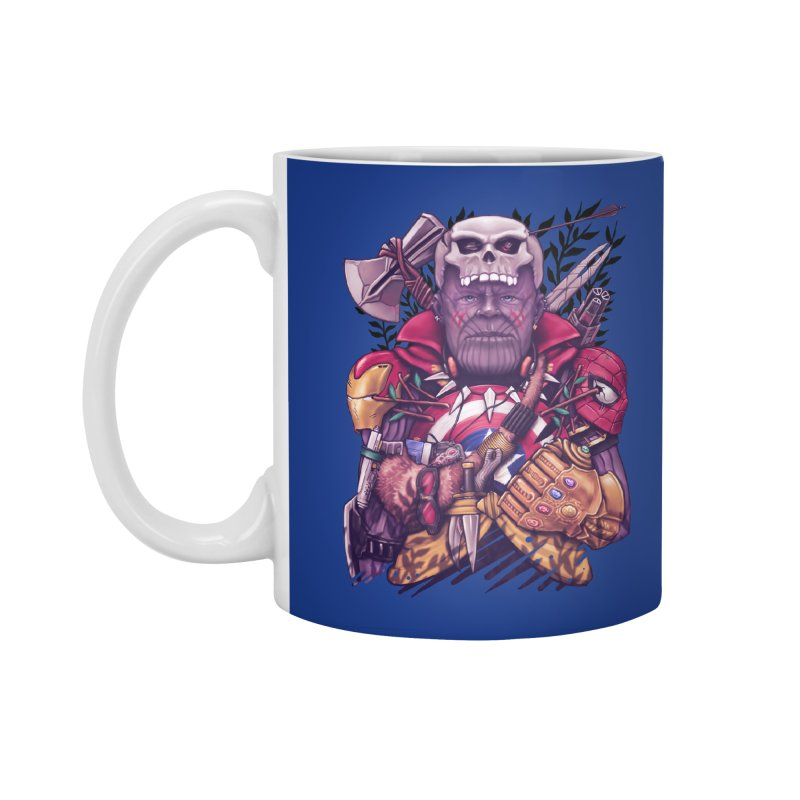 Wild Thanos Accessories Standard Mug by c0y0te7's Artist Shop