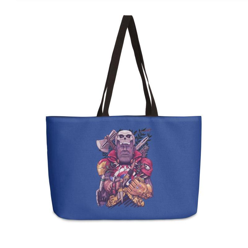 Wild Thanos Accessories Weekender Bag Bag by c0y0te7's Artist Shop