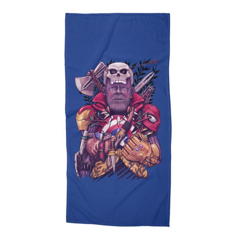 Wild Thanos Accessories Beach Towel by c0y0te7's Artist Shop
