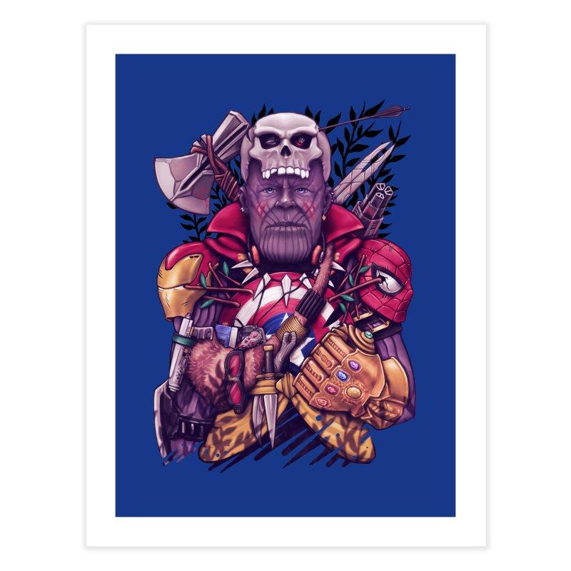 Wild Thanos Home Fine Art Print by c0y0te7's Artist Shop