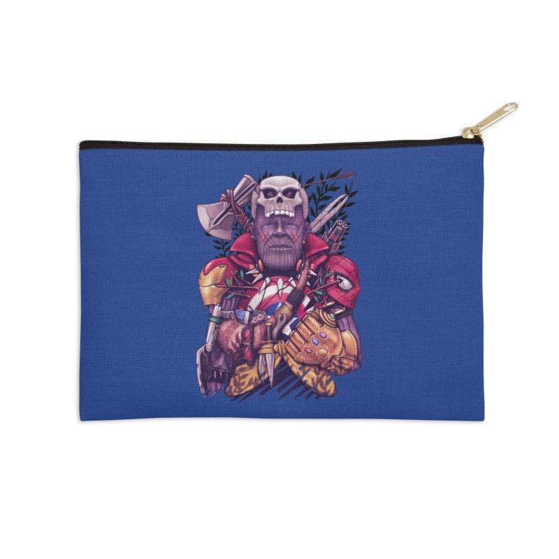 Wild Thanos Accessories Zip Pouch by c0y0te7's Artist Shop
