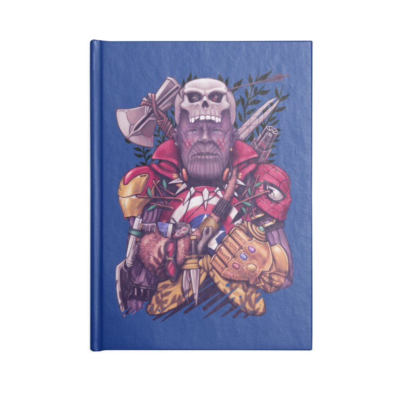 Wild Thanos Accessories Notebook by c0y0te7's Artist Shop