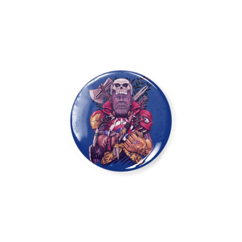 Wild Thanos Accessories Button by c0y0te7's Artist Shop