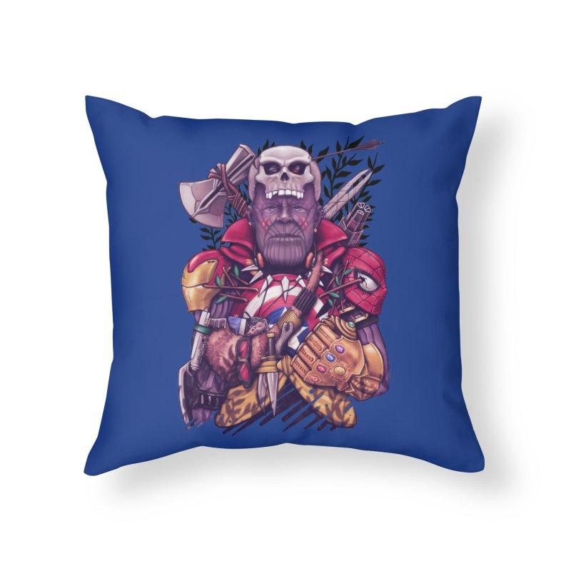 Wild Thanos Home Throw Pillow by c0y0te7's Artist Shop