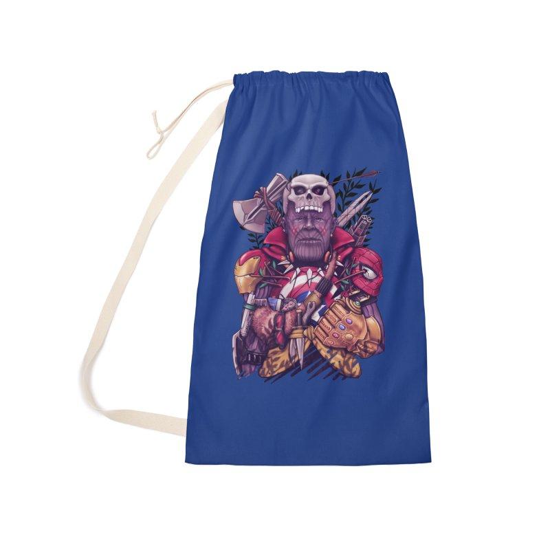 Wild Thanos Accessories Bag by c0y0te7's Artist Shop