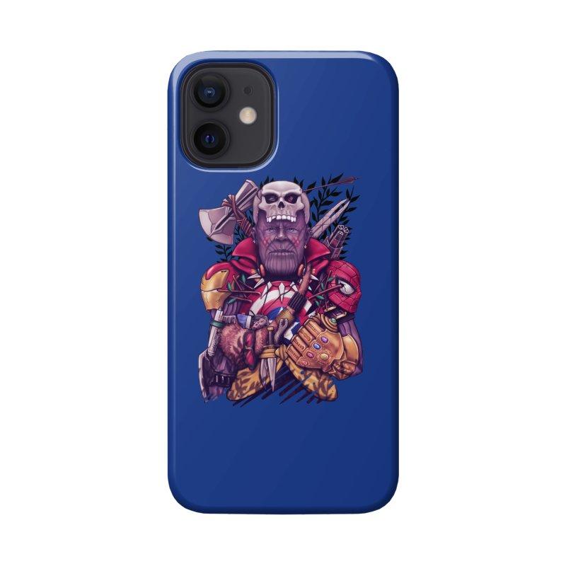 Wild Thanos Accessories Phone Case by c0y0te7's Artist Shop