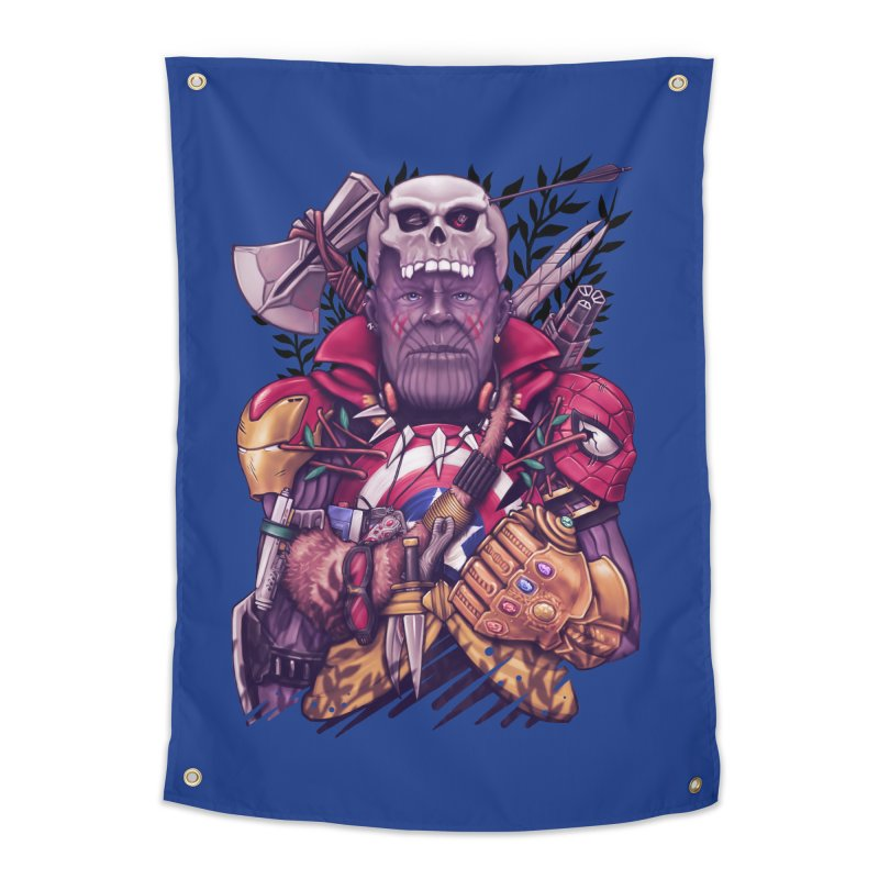 Wild Thanos Home Tapestry by c0y0te7's Artist Shop