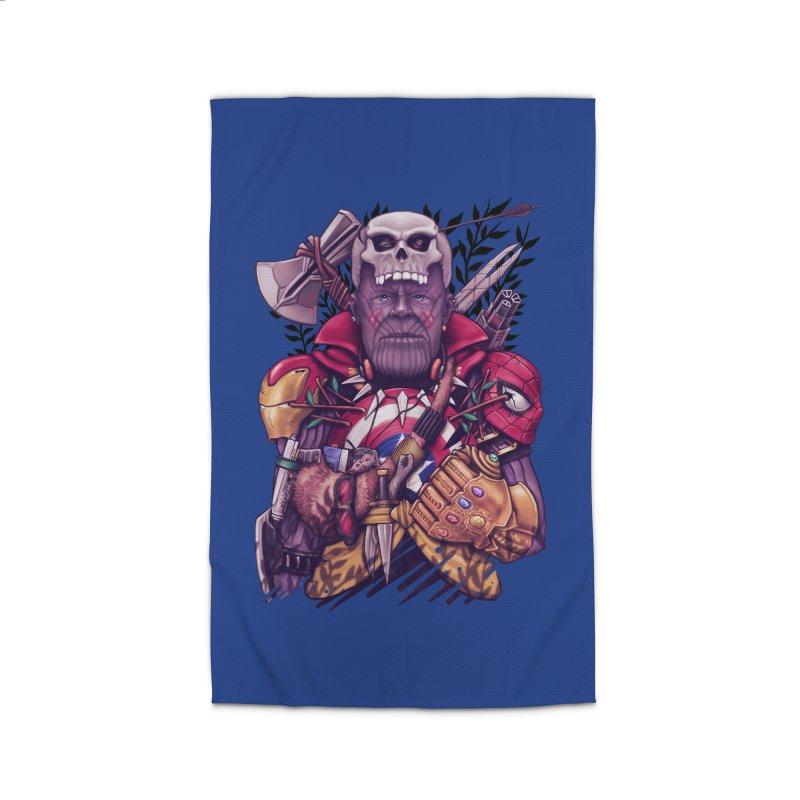 Wild Thanos Home Rug by c0y0te7's Artist Shop