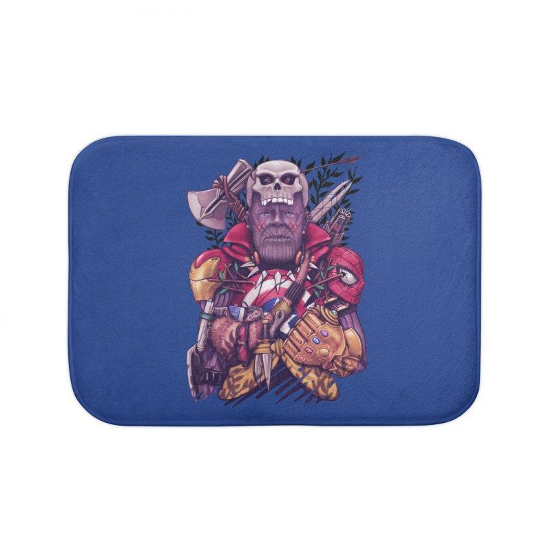 Wild Thanos Home Bath Mat by c0y0te7's Artist Shop