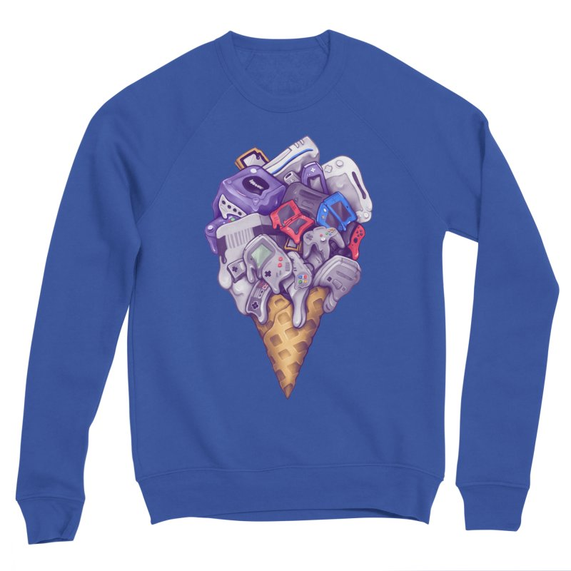 Ice Cream Nintendo Consoles Women's Sweatshirt by c0y0te7's Artist Shop
