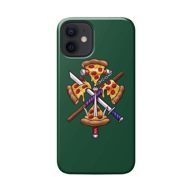 Ninja Pizza Accessories Phone Case by c0y0te7's Artist Shop