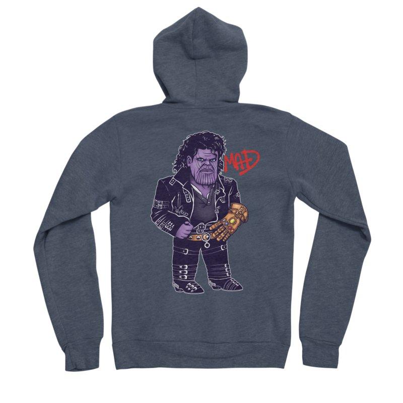 Mad Men's Sponge Fleece Zip-Up Hoody by c0y0te7's Artist Shop