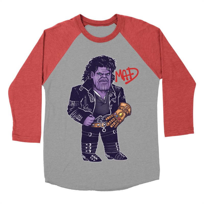 Mad Women's Baseball Triblend Longsleeve T-Shirt by c0y0te7's Artist Shop