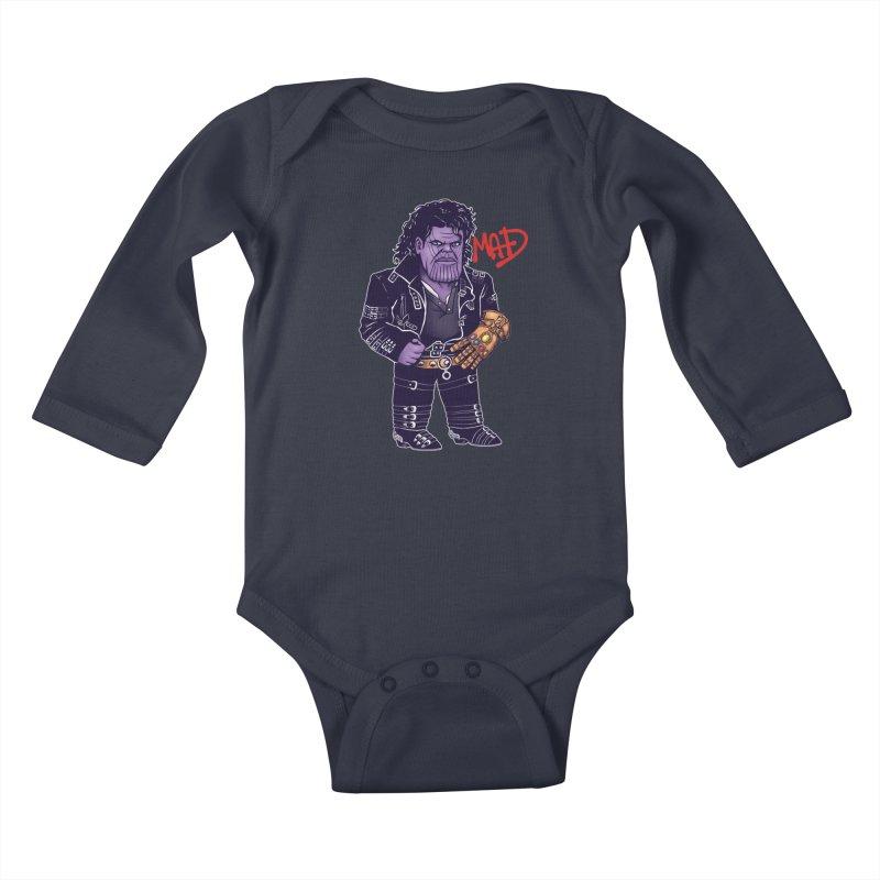 Mad Kids Baby Longsleeve Bodysuit by c0y0te7's Artist Shop