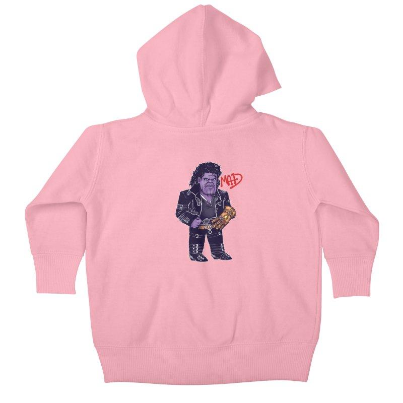 Mad Kids Baby Zip-Up Hoody by c0y0te7's Artist Shop