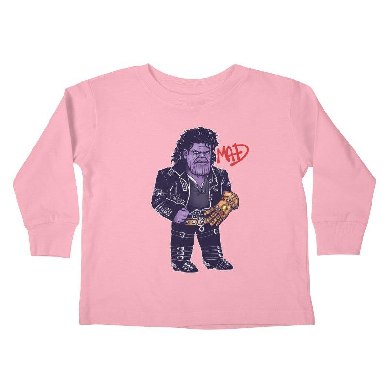 Mad Kids Toddler Longsleeve T-Shirt by c0y0te7's Artist Shop