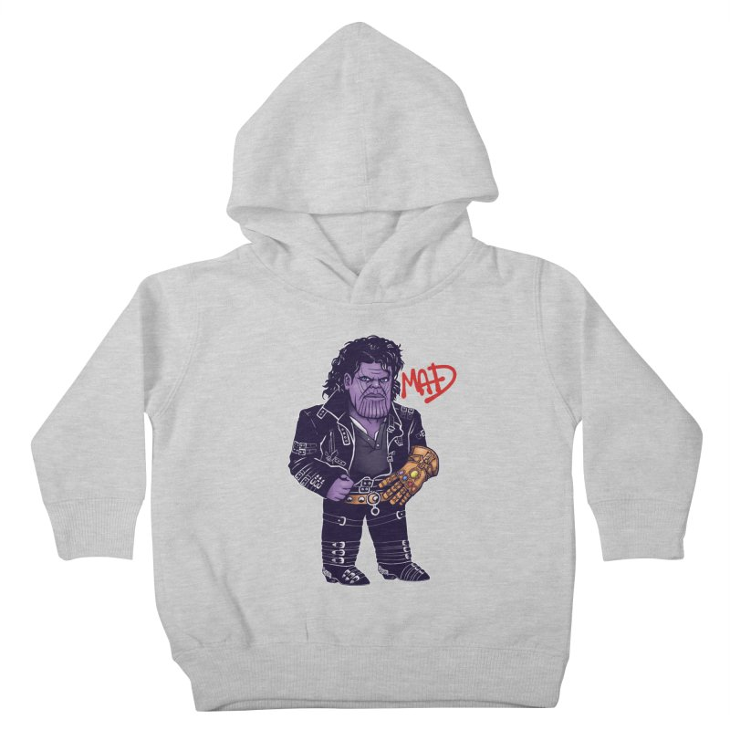Mad Kids Toddler Pullover Hoody by c0y0te7's Artist Shop
